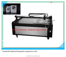 China double100 auto crystal MDF photo album covers/frame making machine