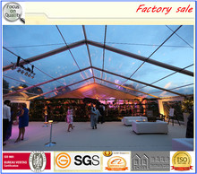 500 people clear wedding party tent