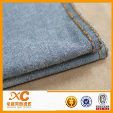 stocklot 5oz woven 100% cotton china changzhou sell best denim jeans fabric for global