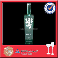 Wholesale 700ml gorgeous big vodka glass bottle for sale