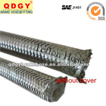 pu cover stainless steel braided brake line coil