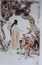 Hand Paint Chinese Silk Pictures