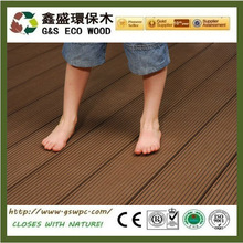 G&S hot selling wpc decking,fireproof and no glue wpc flooring,wood plastic decking