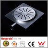 Stainless steel grate drain