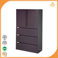 office furniture steel cabinet korean 4 shelve modular xxxn storage cabinet glass door metal filing cabinet cabinet with
