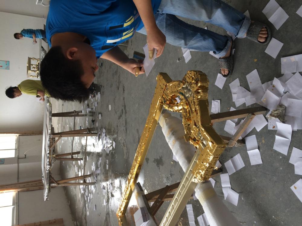 Estilo rabe dubai trono dourado luxo console de mesa em for Sala de estar estilo arabe