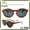 Top Quality Vintage Retro Round Wood Sunglasses.Wholesale China Wood Sunglass