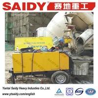 distributors wanted china mini concrete pump for sale HBT15-08SC concrete pump machinery