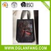 Promptional tote canvas bag plain black cotton canvas tote bag2015071059