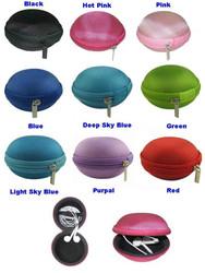 universal earphone case, cable case, carry storage earphone case
