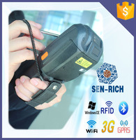 Handheld data collector industrial PDA with mobile phone