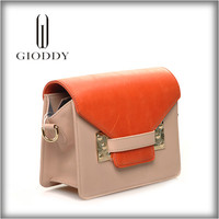 Leather handbag branded new style 100% genuine leather bag low cost handbags