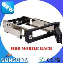 "3.5"" High quality fancy internal hdd mobile rack Security key lock"