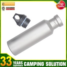 Flat Stainless Steel Water Bottle with Lids