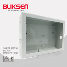 Bending aluminum metal framed tool extrusion case