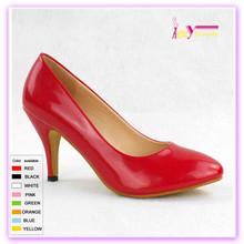 Zapatos de vestir rojas clásicas