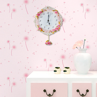 Sale 2015 Decorative Pace Clock Arcylick High Quality Resin Japan Style Retro vintage old wall clock BY001