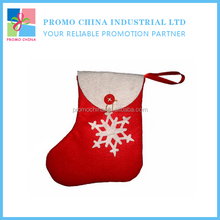 2016 New Hot Selling Non-Woven Snow Christmas Candy Bag For Christmas Holiday