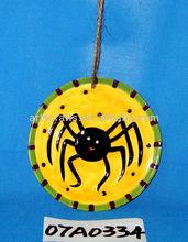 2013 ceramic Halloween tree hanging ornament