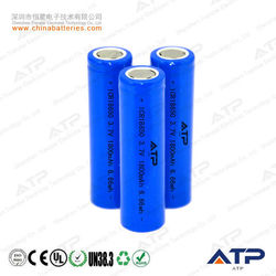 hot sale 18650 li ion battery / 18650 3.7v 1800mah li-ion battery