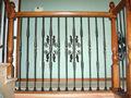 madeira de escada em linha reta de ferro WH14H003