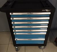 Special mechanic Kraftwelle 7drawer tools trolley cabinet