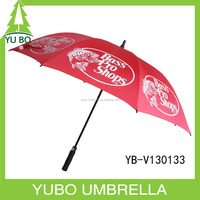 No metal unbreakable umbrella big size for wholesale promotion
