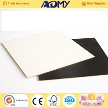 2015 ADMY competitive price 3mm white melamine mdf factory from china