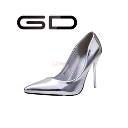 2015 Ladies simple style hot sexy high pump shoes for elegant ladies