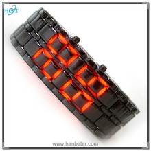Wholesale lava display light iron fashion for new style cheap led watches