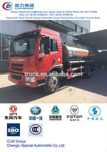 used fuel and chemical liquid tanker truck