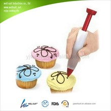 2014 promotion silicone mini icing pen with PP