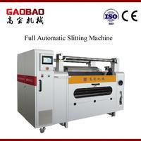 Full Automatic Auto Pvc Film Slitting And Rewinding Machine Flexible High Quality High Presicion Simple Maintenance