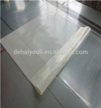Silicone rubber sheet for vacuum press machine