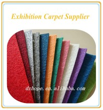 Green/Red/Blue/Yellow/Brown/Grey Exhibition carpet with Protective film,striped carpet from hengde