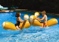 High quality inflatable floating Log Flume Joust Set