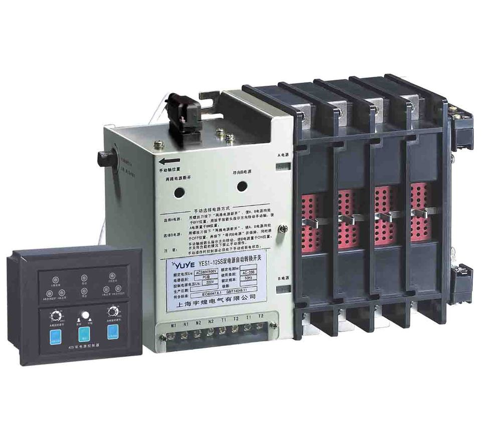 Pc Class Automatic Transfer Switch With 3p Or 4p Ats