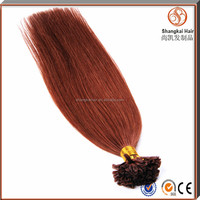1g/Strand 20inch Remy Double Drawn Keratin U Tip Human Hair Extension