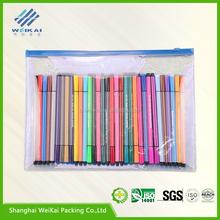 custom pvc stationery bag,eva stationery case with zipper WK0191