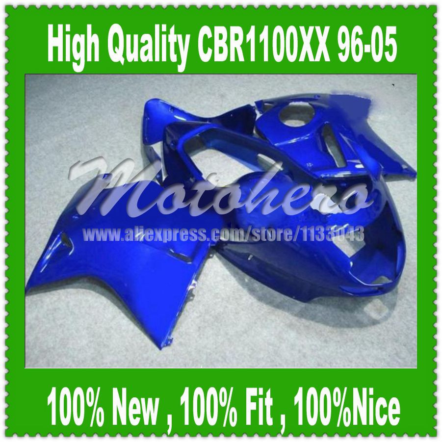 Fairing kit All Blue W3255f for Honda CBR1100XX 96-05 CBR1100 XX 96 05 1996 2005 CBR 1100XX 96 05 CBR 1100 XX 96 05