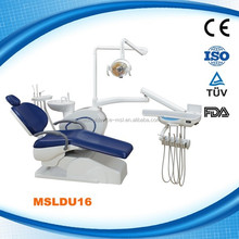 High quality cheap multi-functional adjustable 3 way springe dental chair with comfortable feeling MSLDU16-L