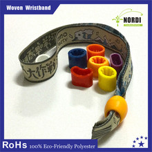 Manufacturer supplies colorful high quality words design giveaways wristband for festival event