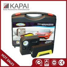 High-Power Emergency Car Portable Battery Jump Starter With Air Compressor