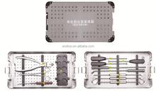Spinal Fusion basic orthopedic surgical instrument set