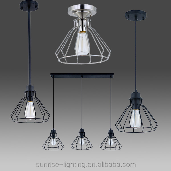 vanity pendant lamp with edison bulb buy industrial style pendant. Black Bedroom Furniture Sets. Home Design Ideas