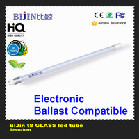 Electronic ballast compatible general electric led tube light high lumen 4ft t8 led tube light