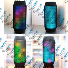 Top selling Music TF Built-in battery LED Lighting Wireless Pulse Portable Bluetooth Speaker