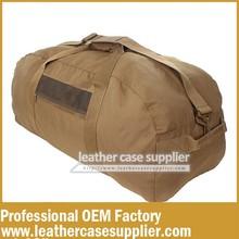 new design canvas fashion military duffle bag