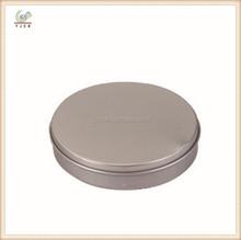 CB-TIB190 round flat small tin container