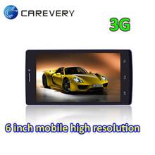 6 inch screen smartphone, dual sim smartphone 3G, smartphone with dual sim cards